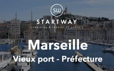 Nouvel espace de coworking à Marseille Préfecture Vieux Port