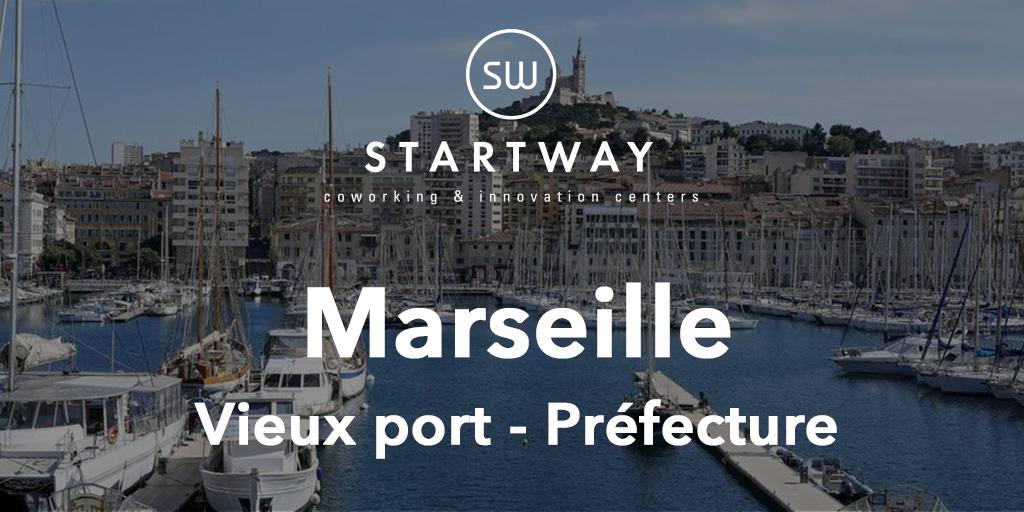 Espace de coworking à Marseille Préfecture Vieux Port