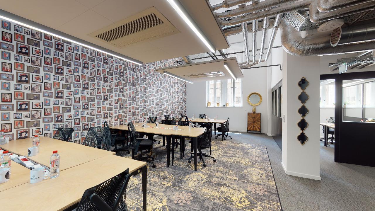 espace de coworking à Marseille bureaux à partager