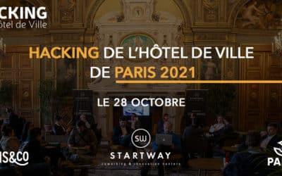 Hacking de l'Hôtel de Ville de Paris 2021