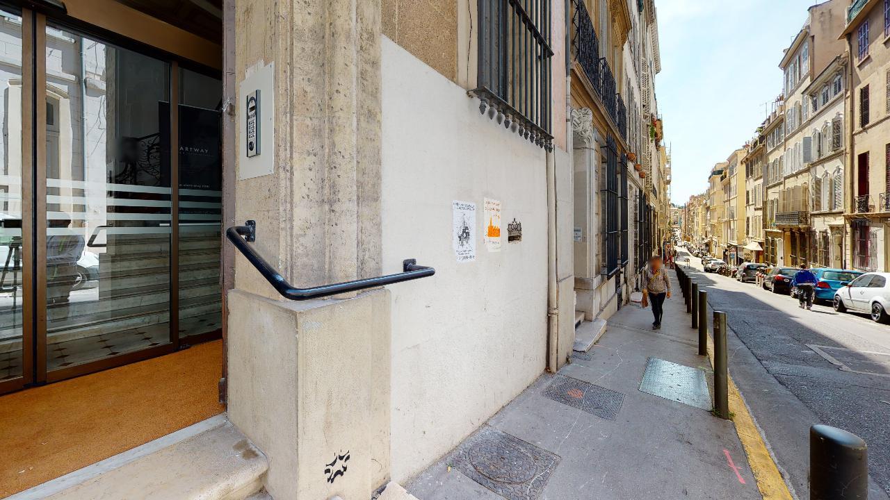 Espace de coworking à Marseille rue Dieudé