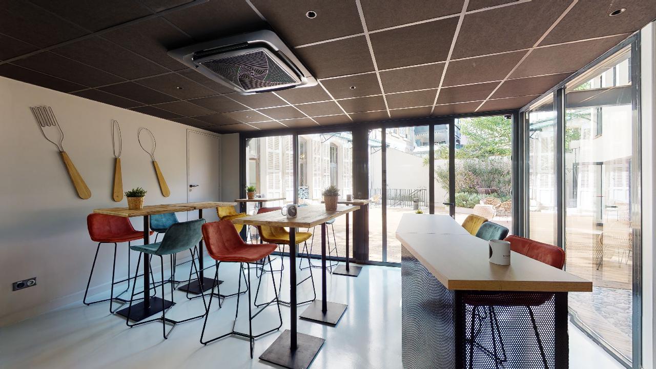 Espace de coworking à Marseille - caféteria