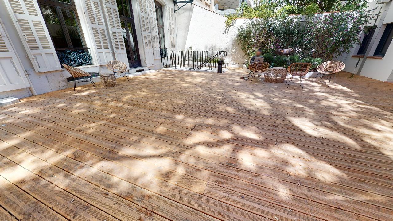 Espace de coworking à Marseille - terrasse